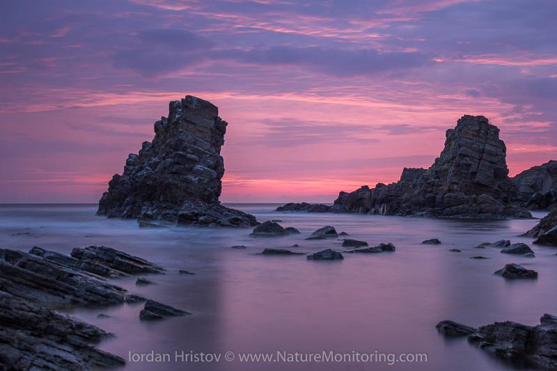 """The Bulgarian Black Sea coast is known for its rock formations called """"ships,"""" which attract many photographers. Photo credit: Iordan Hristov / www.naturemonitoring.com"""