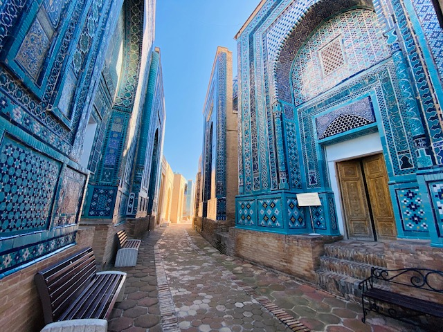 Abdu shares some of his photos of Samarkand's empty beauty during these strangely peaceful days.