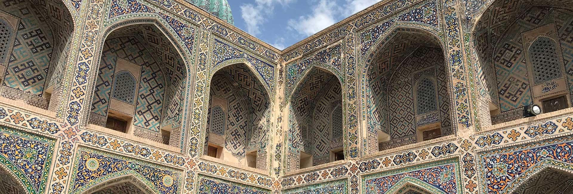 Registan Square in Samarkand, Uzbekistan. Photo credit: Abdu Samadov