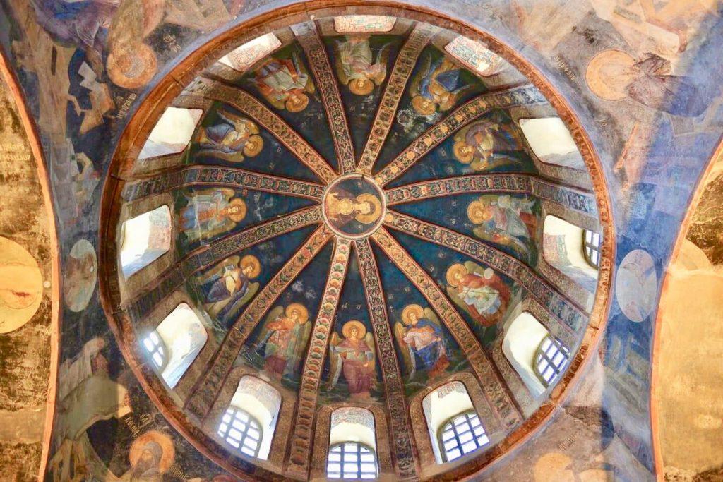 The Church of Chora in Istanbul. Photo credit: Yasar Karadag