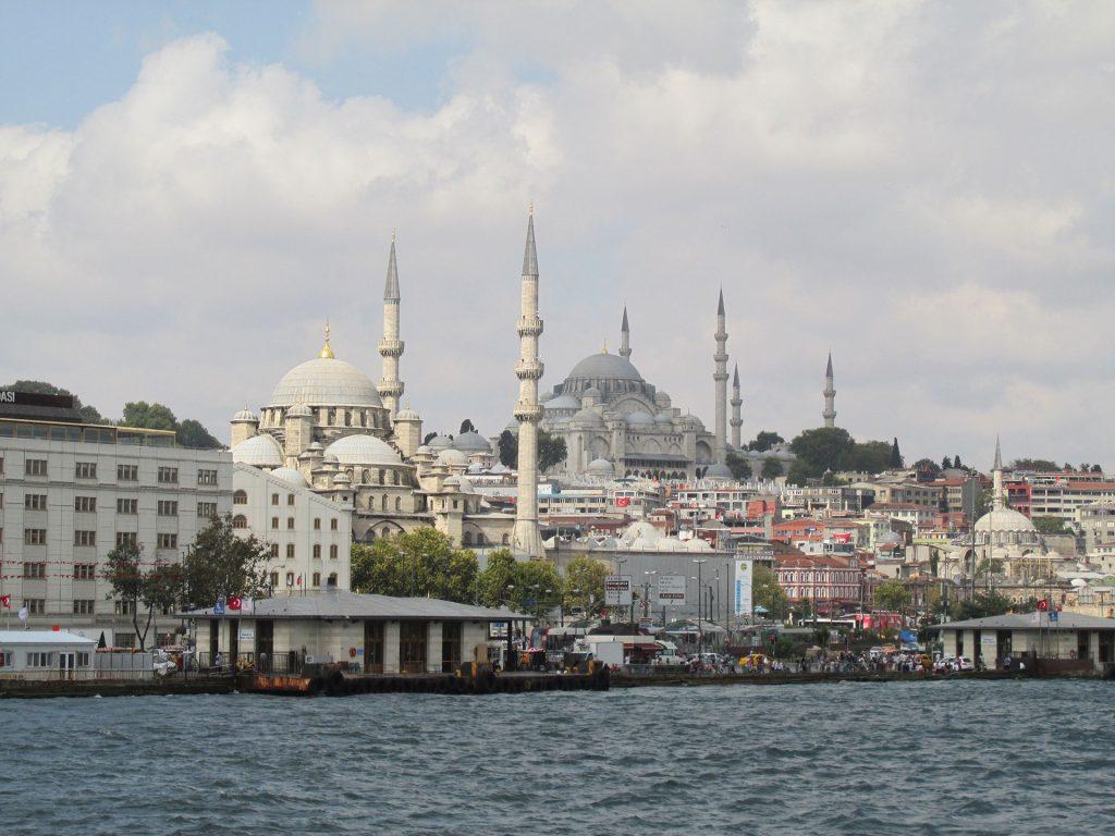 Cruising down the Bosphorus in Istanbul. Photo credit: Steven Orvis