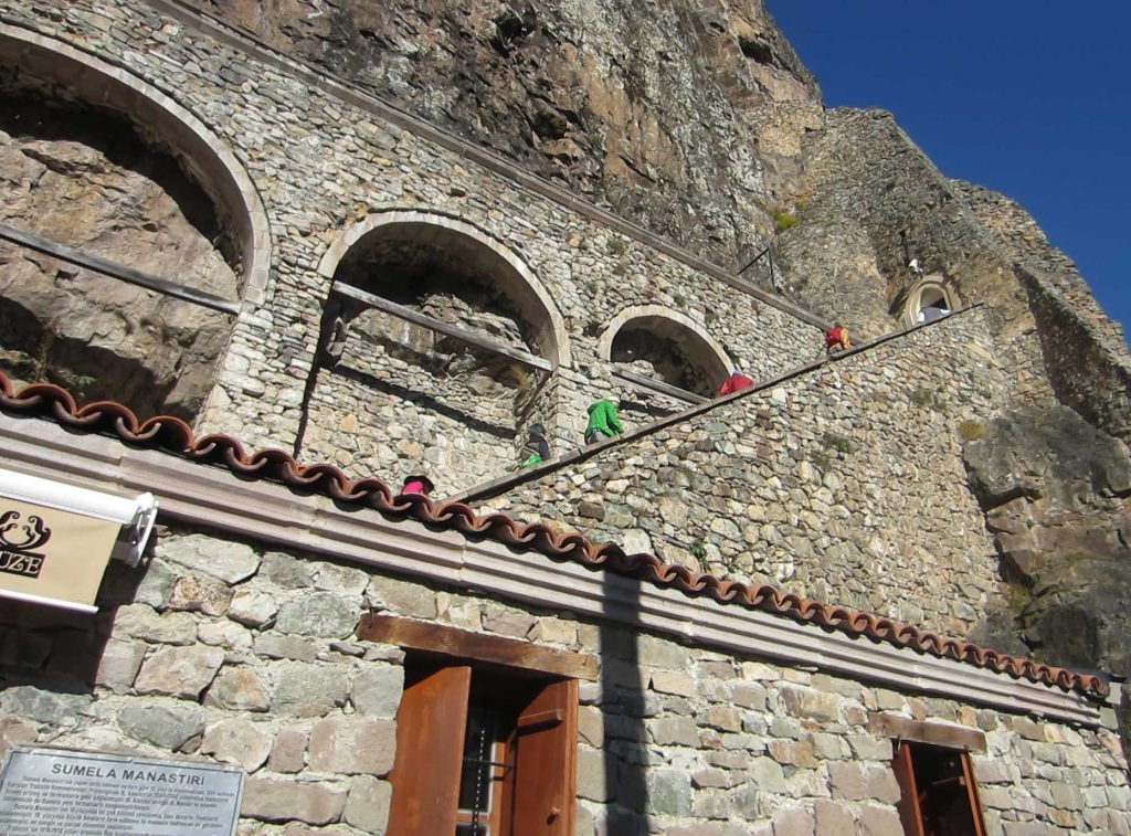 Sumela Monastery in Turkey. Photo credit: Jered Gorman
