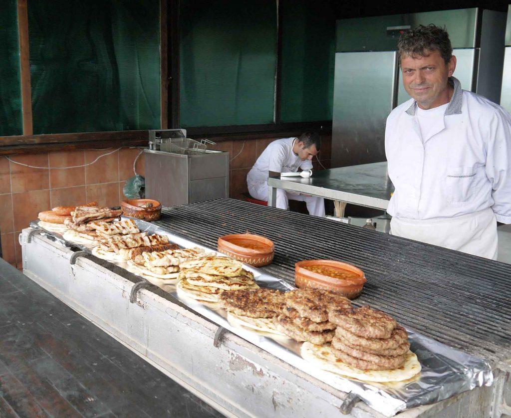 Local food in Ohrid, North Macedonia. Photo credit: Martin Klimenta