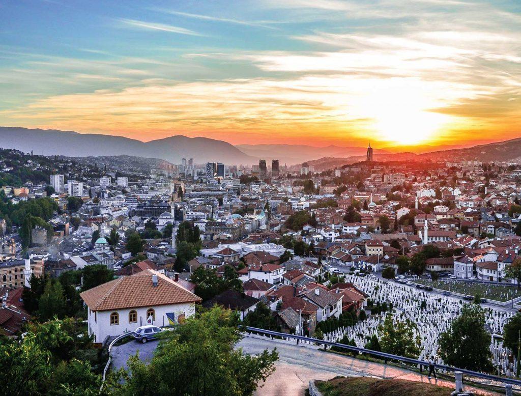 Sarajevo, Bosnia & Herzegovina. Photo credit: Visit Sarajevo