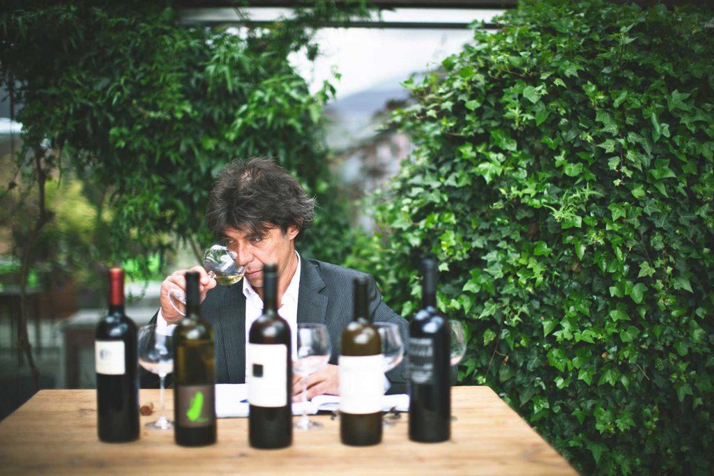 A tasting in Slovenia. Photo credit: Suzan Gabrijan - Adventure Slovenia
