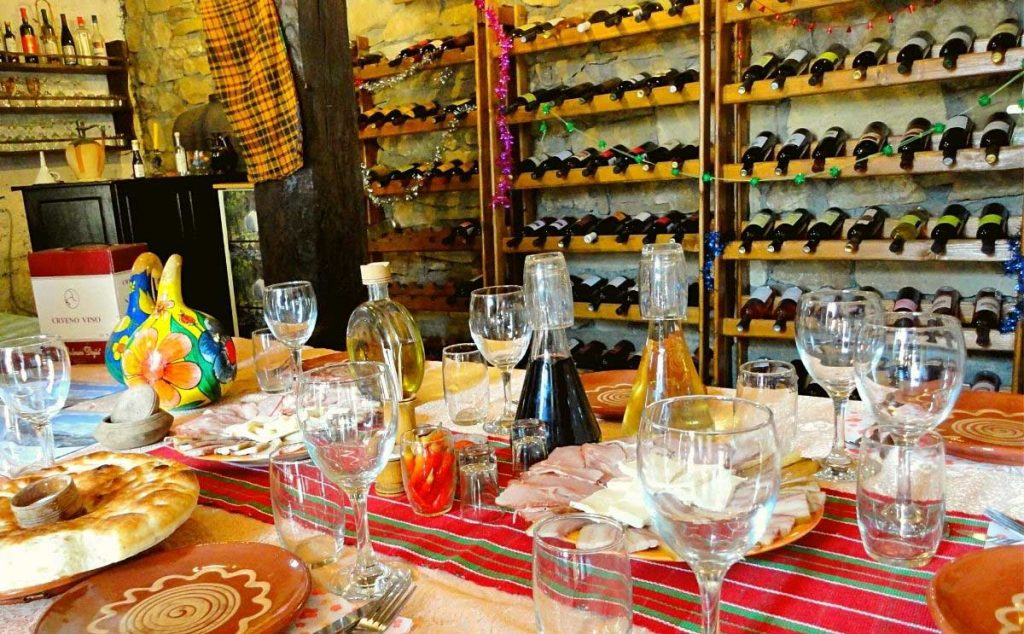 Serbian wines in Rajačke Pimnice, Serbia. Photo credit: Ljubisa Nesovanovic
