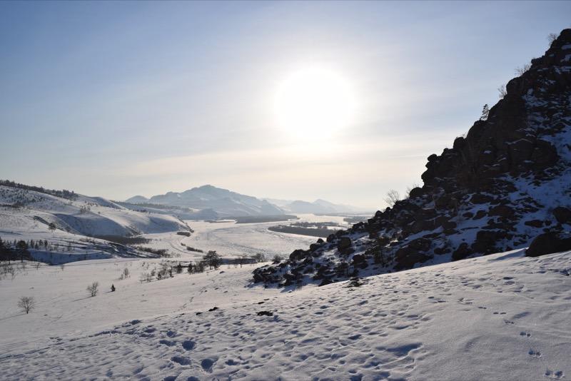 Siberia in winter is an adventure lover's dream. Photo credit: Douglas Grimes