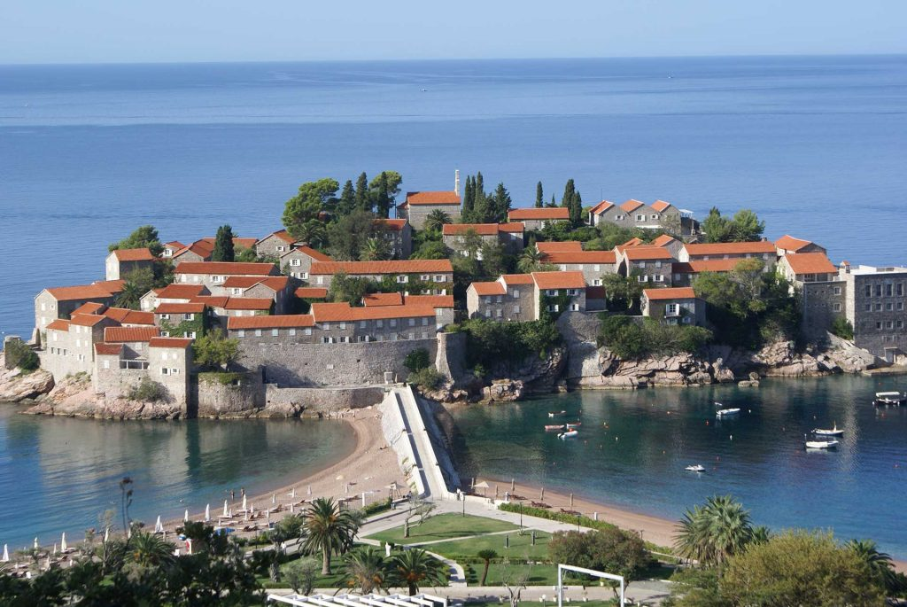 Sveti Stefan, Montenegro. Photo credit: Joanna Millick
