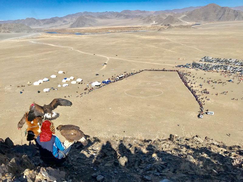 Mongolia's Golden Eagle Festival. Photo: Michel Behar