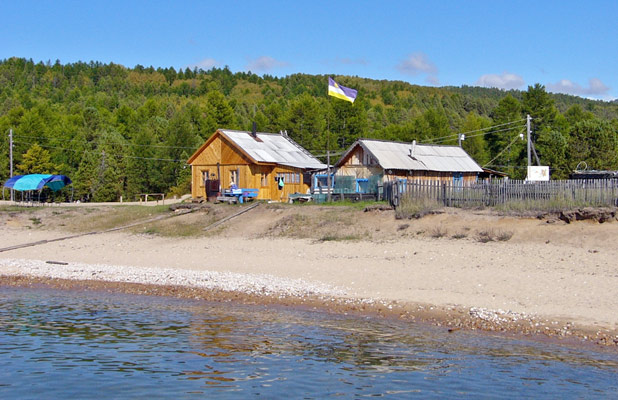 Today Lake Baikal is sporadically dotted with wooden cottages and lakeside accommodations. Photo credit: Vladimir Kvashnin