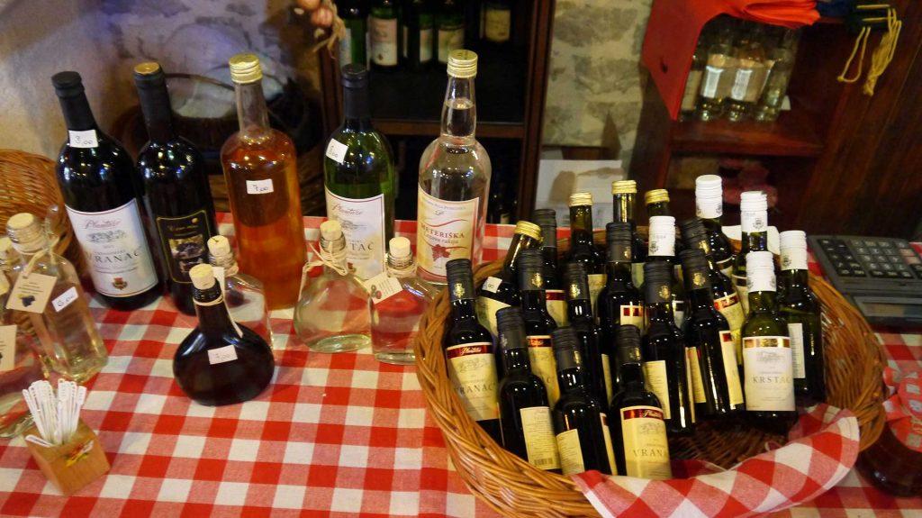 A tasting in the small village of Njegusi, Montenegro. Photo credit: Martin Klimenta