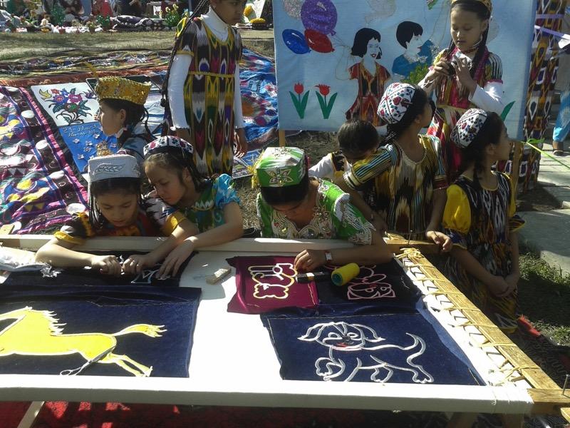 Navruz preparations are a multi-generational affair. Photo credit: Regina Mnatsakanian