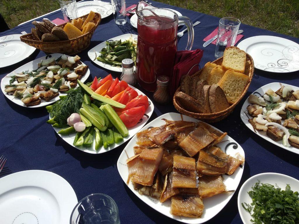 A selection of fresh fish. Photo credit: Tatyana Starova