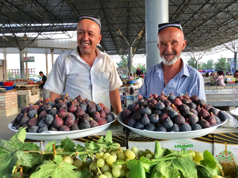 Recent reform-minded policies enacted by the Uzbek government are giving everyone a reason to smile. Photo credit: Michel Behar