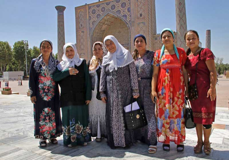 For centuries, the Registan has been a gathering place for local residents as well as sojourners on the Silk Road. Photo credit: Donovan Wong