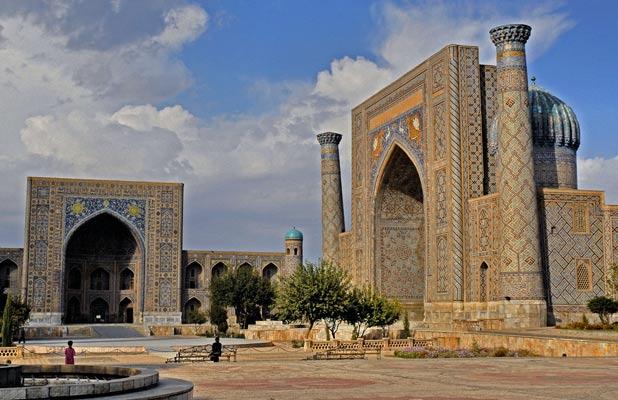 Majestic Registan Square in Samarkand, Uzbekistan. Photo credit: Ana Filonov