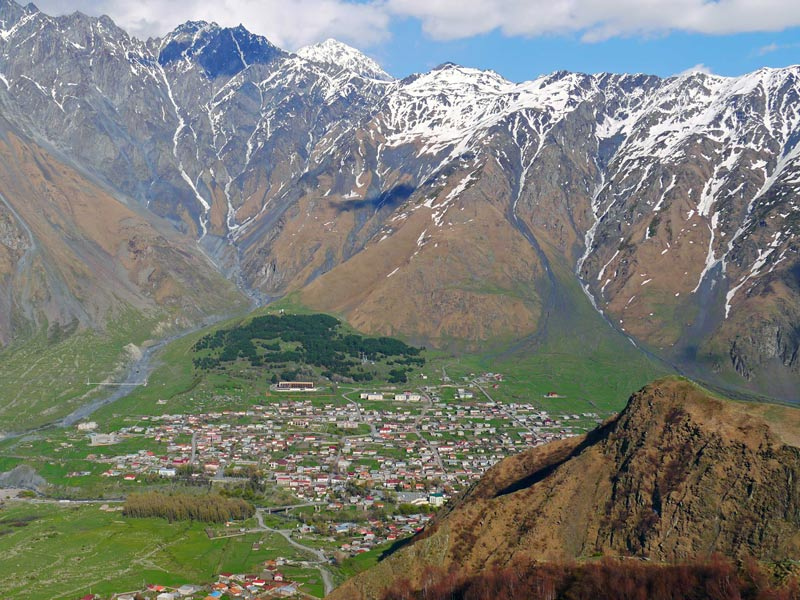 Mountainous Georgia is studded with villages, and rich in history. Photo credit: Martin Klimenta