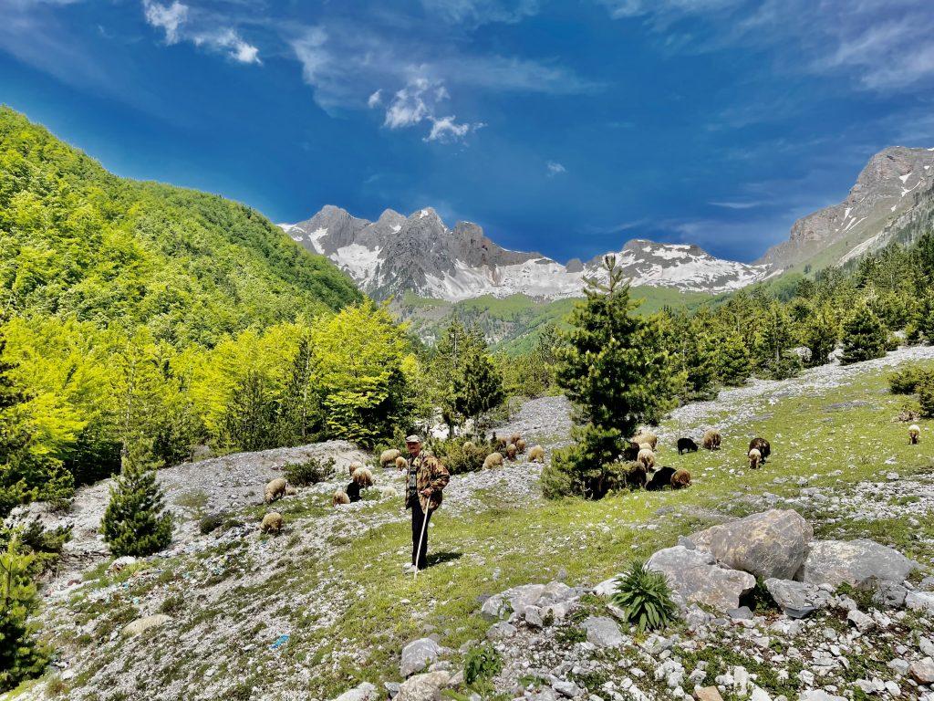 Valbonë and Dinarin Alps. Photo credit: Michel Behar
