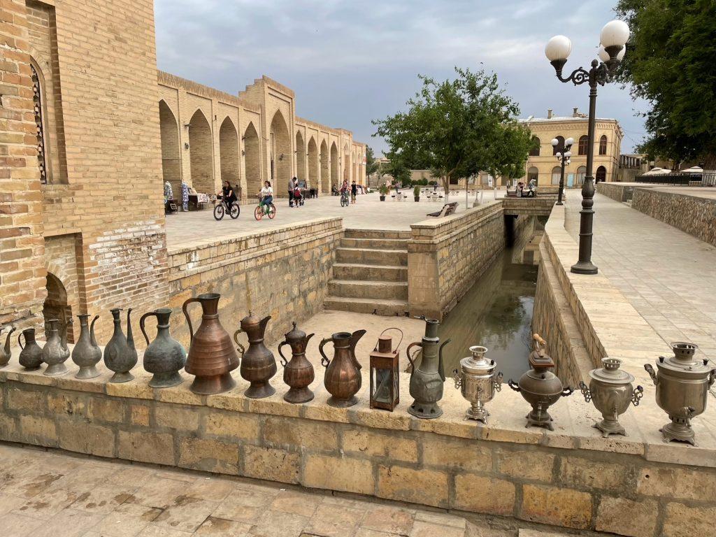 Exploring the streets of Bukhara, Uzbekistan. Photo credit: Andrew Short