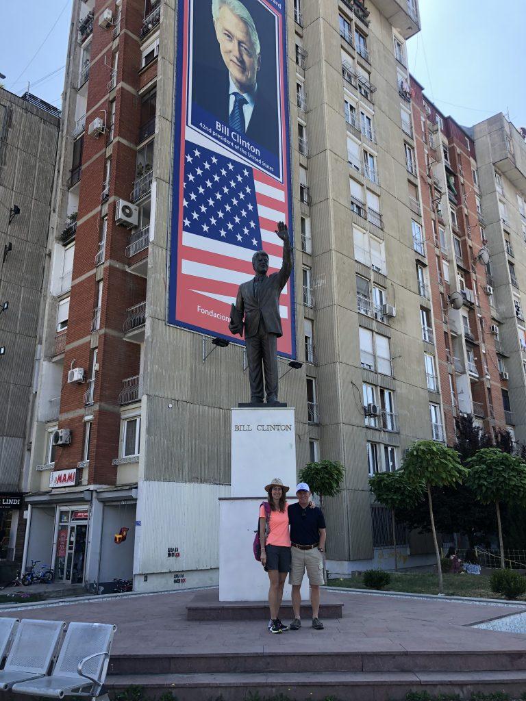 Natalie Hesse and her husband Kurt in Kosovo. Photo credit: Natalie Hesse