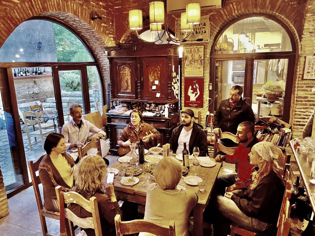 Music and Feasting in Kakheti (Georgia, South Caucasus). Photo credit: Michel Behar